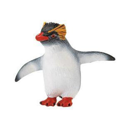 "Rockhopper Penguin Figurine by Safari (2"" tall)"