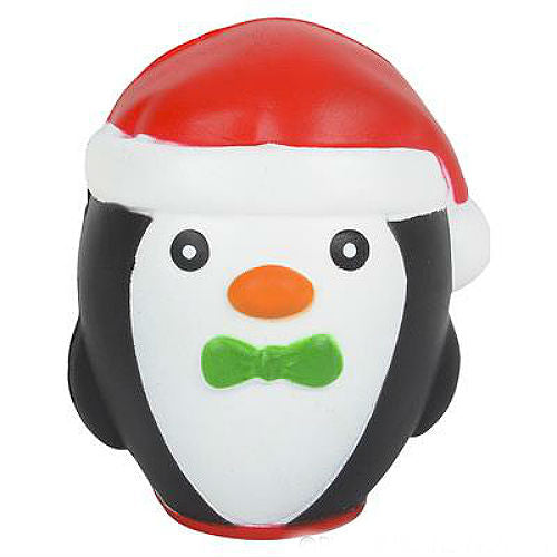 "Santa Penguin Squishy Squeezy Buddy (4"" Tall)"