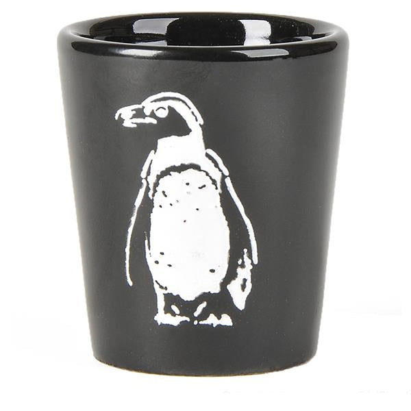 "Penguin Etched Shot Glass (2 1/2"" Tall)"