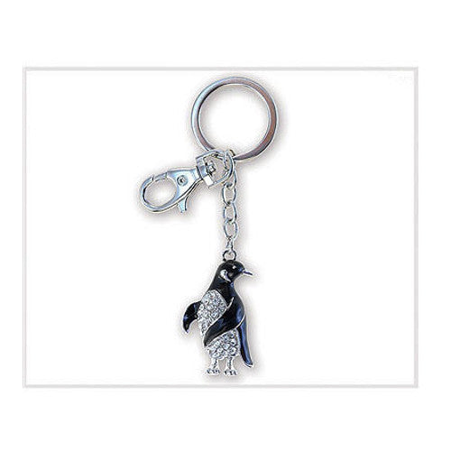 Penguin Key Chain Sparkle