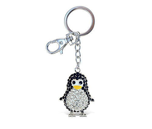 Sparkle Baby Penguin Key Chain