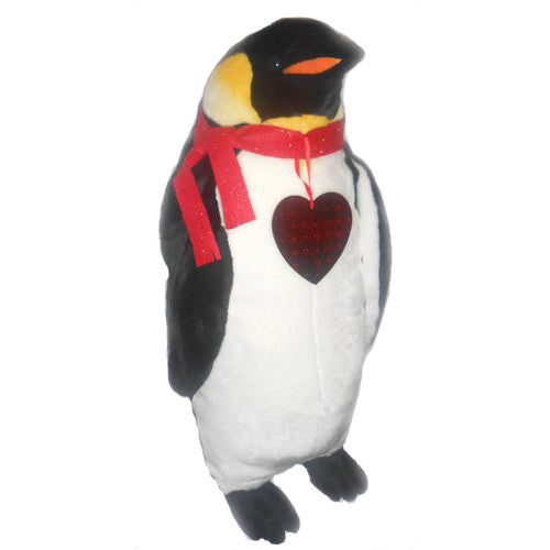 "Ultimate Romantic Penguin Plush (33"" Tall)"