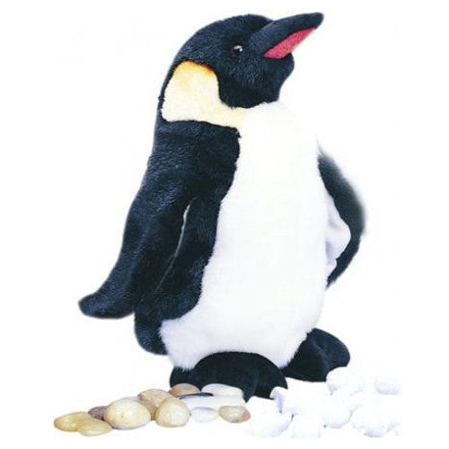 "Waddles Plush Penguin (10"" tall)"