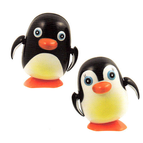 Wind-Up Waddling Penguins (individual or as a Couple)