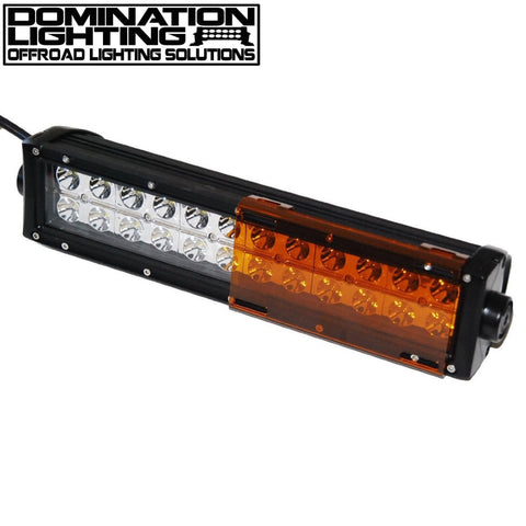 Amber light bar cover domination lighting amber light bar cover mozeypictures Image collections