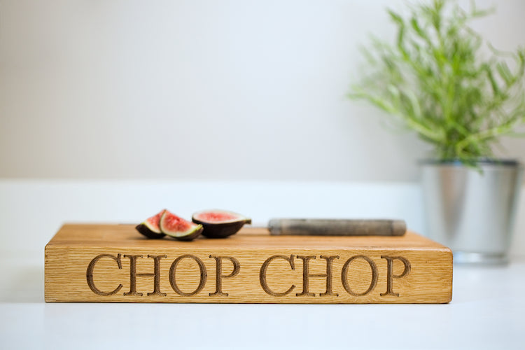 The Small Oak Chopping Board