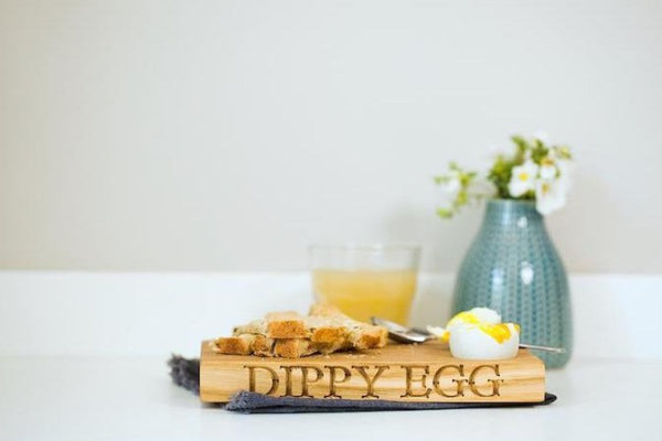 Oak Dippy Egg Board