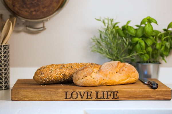 The Oblong Oak Chopping Board