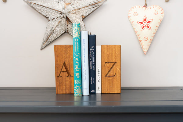 Oak Book Ends