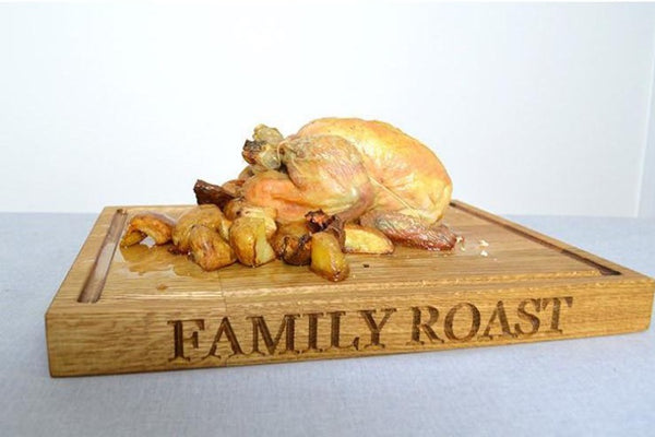 Carving Board - Standard Oak Carving Board