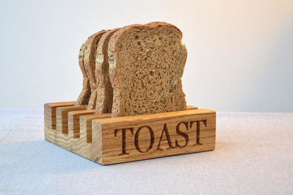 Toast Rack - Oak Toast Rack