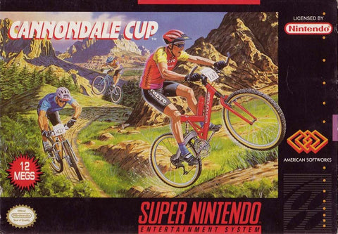Cannondale Cup (Nintendo SNES, 1994)