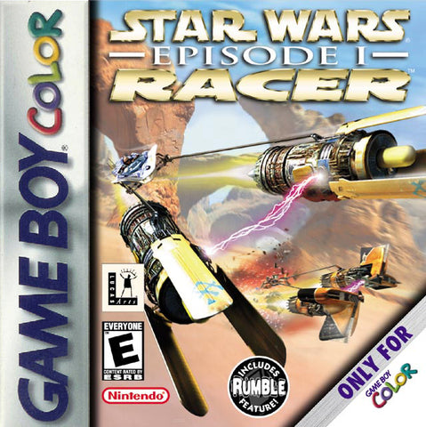 Star Wars Episode I Racer (Nintendo Game Boy Color, 1999)
