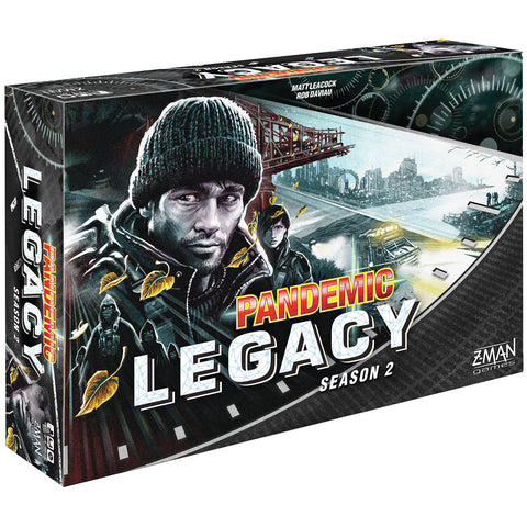 Pandemic Legacy Season 2 (Black) - Board Game (Z-Man Games)