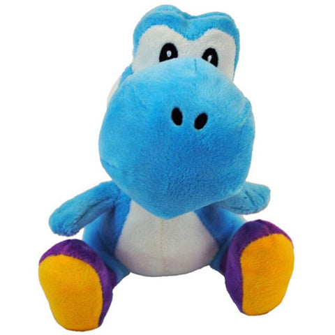 "Light Blue Yoshi 6"" Plush - Plush (Little Buddy)"