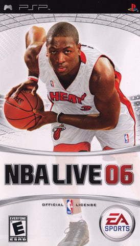 NBA Live 06 (Sony PlayStation Portable, 2005)
