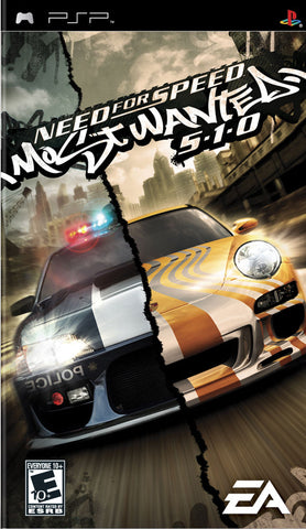 Need for Speed: Most Wanted 5-1-0 (Sony PlayStation Portable, 2005)