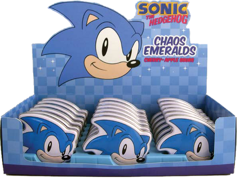 Sonic The Hedgehog Chaos Emeralds Tin - Candy