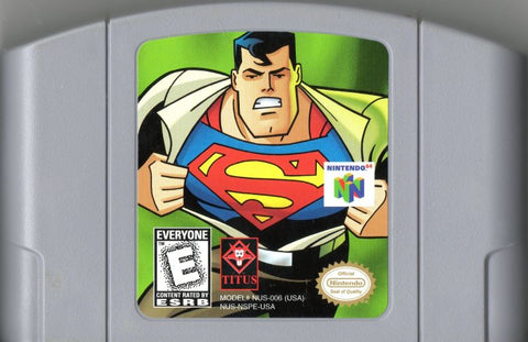 Superman: The New Superman Adventures (Nintendo N64, 1999)