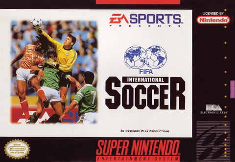 Fifa International Soccer (Nintendo SNES, 1994)