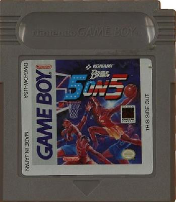 Double Dribble 5 on 5 (Nintendo Game Boy, 1991)