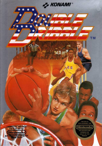 Double Dribble (Nintendo NES, 1987)