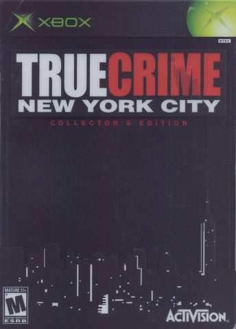 True Crime: New York City Collector's Edition (Microsoft Xbox, 2005)