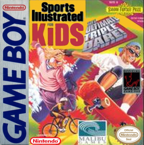Sports Illustrated for Kids: The Ultimate Triple Dare! (Nintendo Game Boy, 1994)
