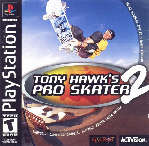 Tony Hawk's Pro Skater 2 (Sony PlayStation, 2000)