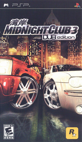 Midnight Club 3: DUB Edition (Sony PlayStation Portable, 2005)