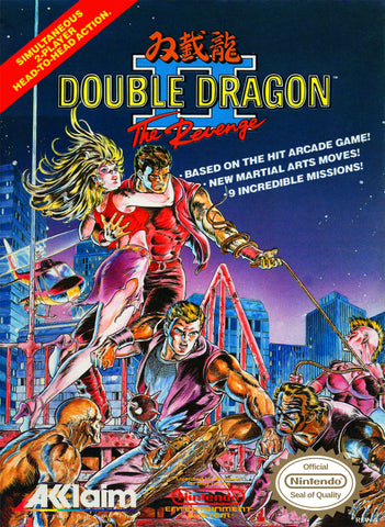Double Dragon 2: The Revenge (Nintendo NES, 1990)