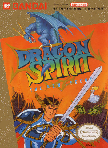 Dragon Spirit: The New Legend (Nintendo NES, 1990)