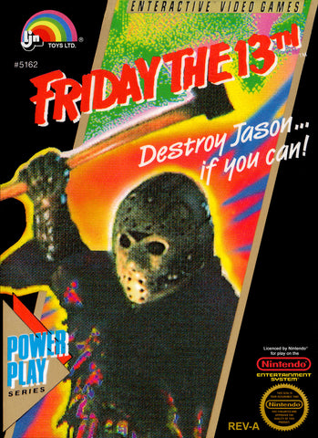 Friday The 13th (Nintendo NES, 1989)