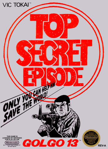 Golgo 13: Top Secret Episode (Nintendo NES, 1988)
