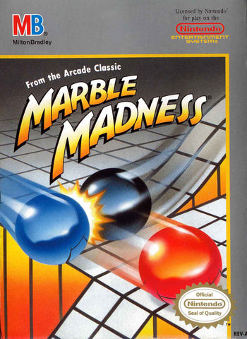 Marble Madness (Nintendo NES, 1989)