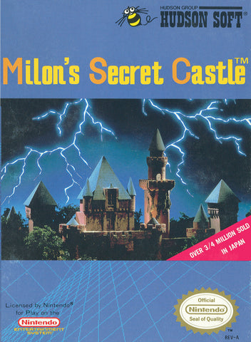 Milon's Secret Castle (Nintendo NES, 1988)