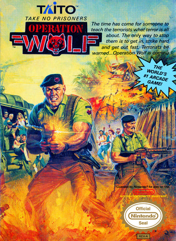 Operation Wolf (Nintendo NES, 1989)