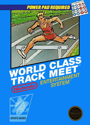 World Class Track Meet (Nintendo NES, 1987)