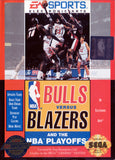 Bulls Vs Blazers and the NBA Playoffs (Sega Genesis, 1993)