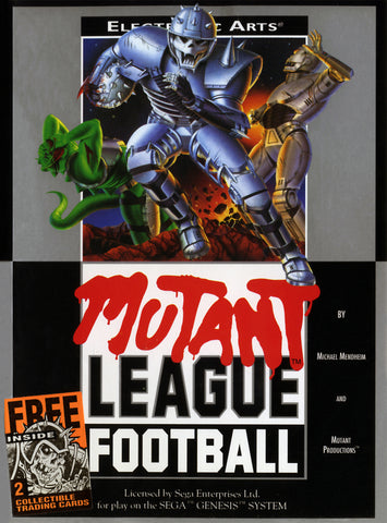 Mutant League Football (Sega Genesis, 1993)