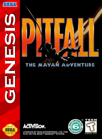 Pitfall: The Mayan Adventure (Sega Genesis, 1994)