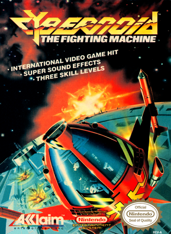 Cybernoid: The Fighting Machine (Nintendo NES, 1989)
