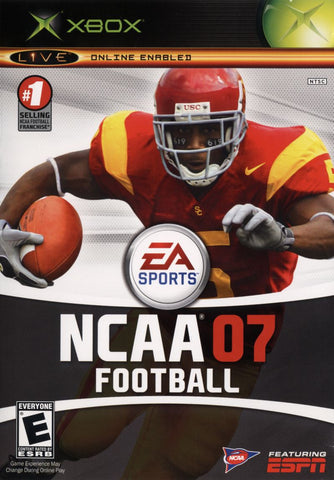 NCAA Football 2007 (Microsoft Xbox, 2006)