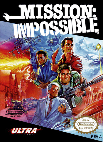 Mission Impossible (Nintendo NES, 1990)