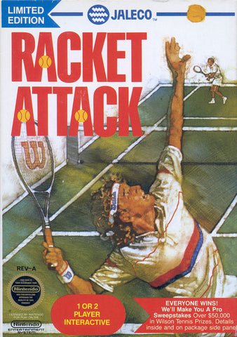 Racket Attack (Nintendo NES, 1988)