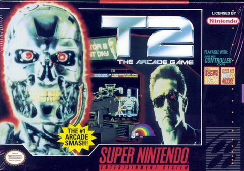 T2: The Arcade Game (Nintendo SNES, 1994)