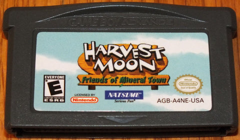 Harvest Moon: Friends Mineral Town (Nintendo Game Boy Advance, 2003)