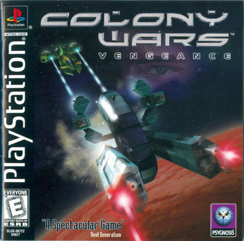 Colony Wars: Vengeance (Sony PlayStation, 1998)