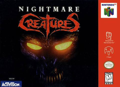 Nightmare Creatures (Nintendo N64, 1998)