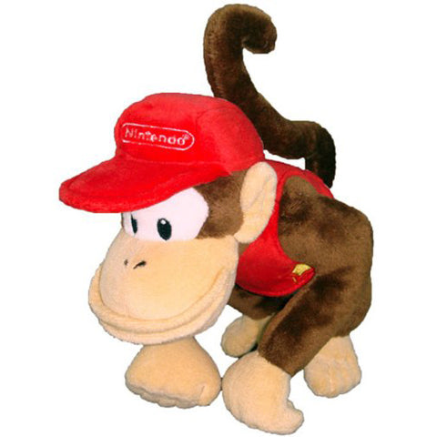 "Diddy Kong 6"" Plush - Plush (Little Buddy)"